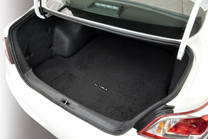 Carpeted Trunk Mat. Trunk Mat image for your Nissan